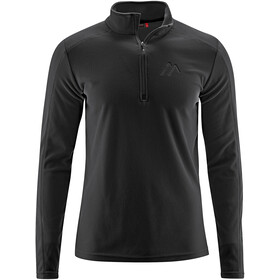 Maier Sports Dennis Fleece Midlayer Men, black